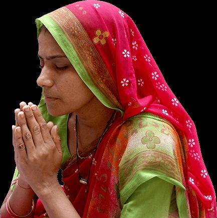 Pray Woman