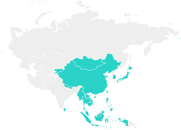 01 Map East Asia