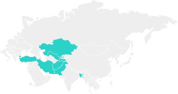 01 Map West Central Asia
